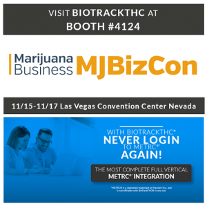 MJBizCon Preview 2017 - BioTrackTHC